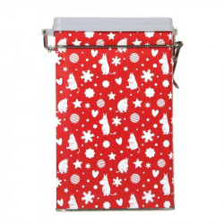 Moomin Christmas Coffee Tin Box