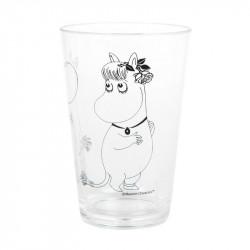 Moomin Plastic Acrylic Tumbler Moomin Troll and Snorkmaiden