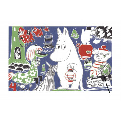 Moomin Poster Moomintroll 4 Tove Jansson 24 x 30 cm