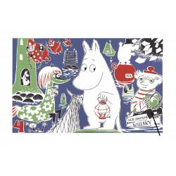 Moomin Poster Moomintroll 4 Tove Jansson 24 x 30 cm