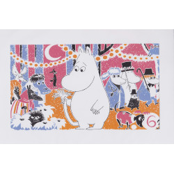 Moomin Poster Moomintroll 6 Tove Jansson 24 x 30 cm
