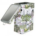 Moomin Garden Coffee Tea Tin Box Martinex