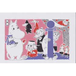 Moomin Poster Moomintroll 8 Tove Jansson 24 x 30 cm