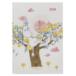 Moomin Hardcover Weekly Planner 2018 Optodesign