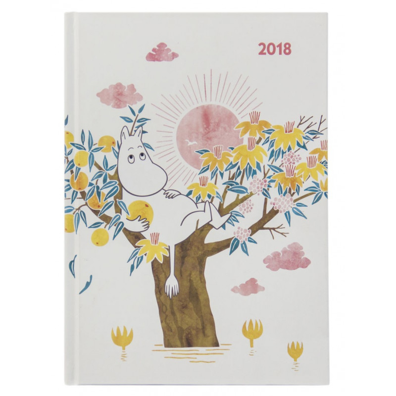 Moomin Hardcover Weekly Planner 2018 Optodesign