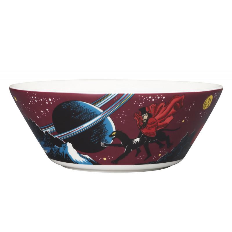 Moomin Bowl Hobgoblin Purple 15 cm Arabia 2018