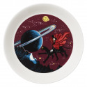 Moomin Plate Hobgoblin Purple 17 cm Arabia 2018