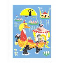 Moomin Poster Toffle &...