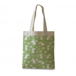 Moomin Shopping Bag Moomin Troll Green Optodesign