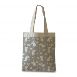 Moomin Shopping Bag Moomin Troll Grey Optodesign