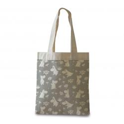 Moomin Shopping Bag Moomin Troll Grey Optodesign