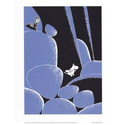 Moomin Poster Tove Jansson Boulder 24 x 30 cm