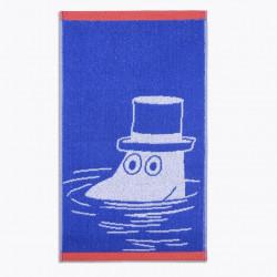 Moomin Hand Towel Moominpappa Blue 30 x 50 Finlayson
