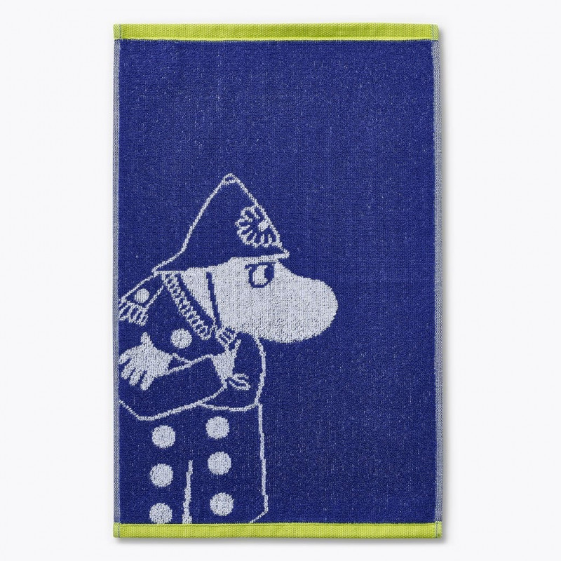 Moomin Hand Towel Police Dark Blue 30 x 50 cm Finlyson