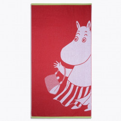 Moomin Bath Towel Moominmamma Red 70 x 140 cm Finlayson