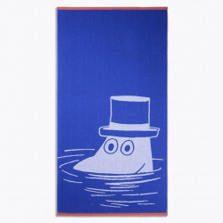 Moomin Bath Towel Moominpappa Blue 70 x 140 cm Finlayson