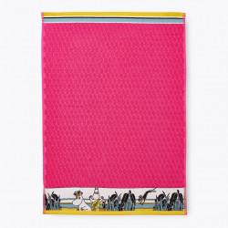 Moomin Hand Towel Tropic Moomin Pink 50 x 70 cm Finlayson