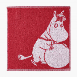 Moomin Face Towel Snowball Snorkmaiden 30 x 30 cm Finlayson