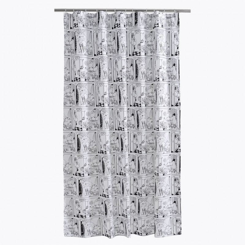 New Moomin Shower Curtain Riviera 180 X 200 Cm Finlayson