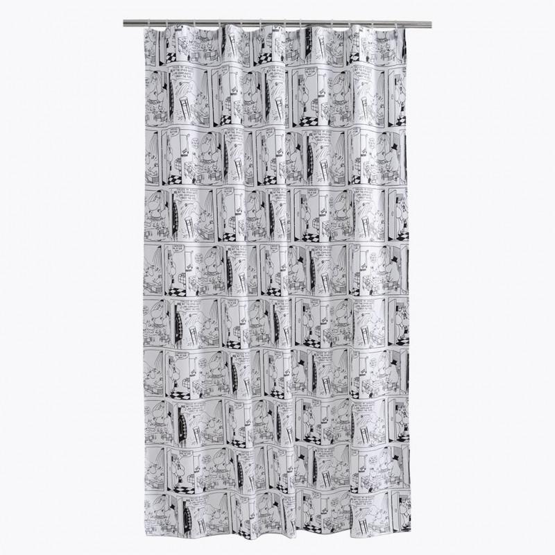 Moomin Shower Curtain Riviera 180 X 200 Cm Finlayson