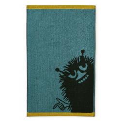 Moomin Hand Towel Stinky Petrol 30 x 50 Finlayson