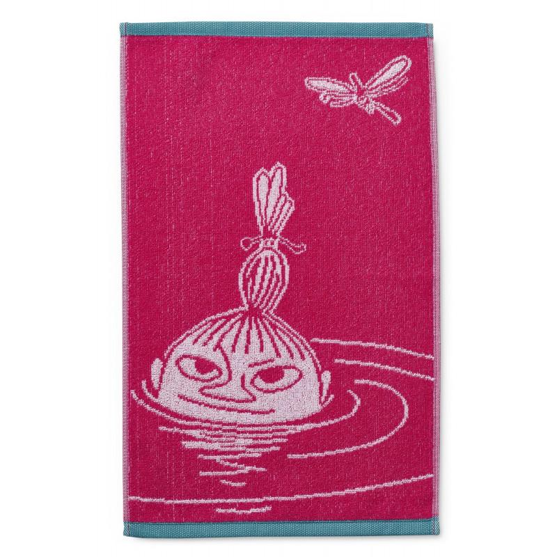 Moomin Hand Towel Little My Pink 30 x 50 Finlayson