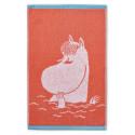 Moomin Hand Towel Snorkmaiden Coral 30 x 50 Finlayson