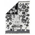 Moomin Blanket Moominmamma Grey 130 x 170 cm Finlayson