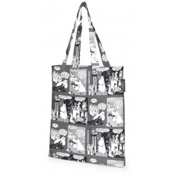 Moomin Tote Bag Cocktail Grey 36 x 42 cm Finlayson