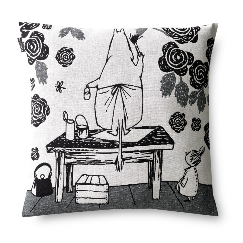 Moomin Cushion Cover with Zip Moominmamma Rose Graden