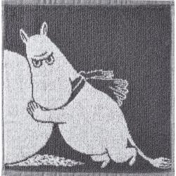Moomin Face Towel Snowball Moomintroll 30 x 30 cm Finlayson
