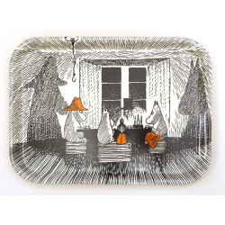 Moomin Birch Tray 20 x 27 cm Together True to Its Origin