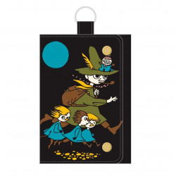 Moomin Wallet with Key Ring Snufkin