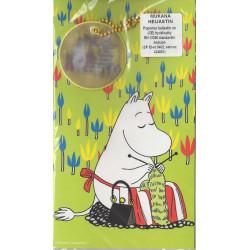 Moomin Card Moominmamma with Reflector Figure Karto