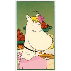 Moomin Greeting Card Riviera Snorkmaiden
