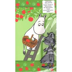 Moomin Greeting Card Troll Reflector Figure Snufkin Karto