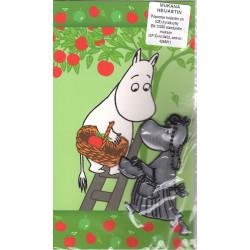 Moomin Greeting Card Troll Reflector Figure Mamma Karto