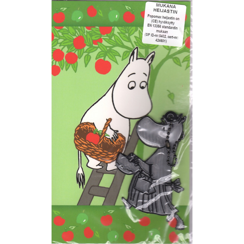 Moomin Greeting Card Troll Reflector Figure Mamma Karto