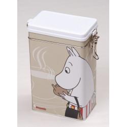 Moomin Tin Box Coffee Moominmamma Beige