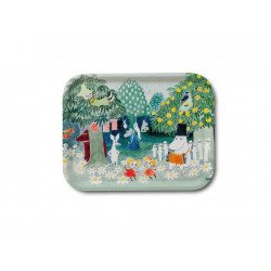 Moomin Birch Tray Moominvalley 36 x 28 cm