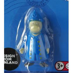 Moomin Small Plastic Figure Police Chief