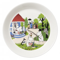 Moomin Seasonal Plate Summer 2018 Going on Vacation