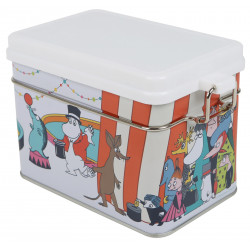 Moomin Circus Tin Box for Tea