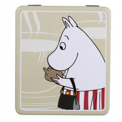 Moomin Tea Tin Box Moomminmamma Beige