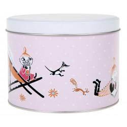 Moomin Joy Round Tin Can...
