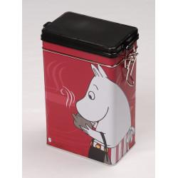 Moomin Tin Box Coffee Moominmamma Red