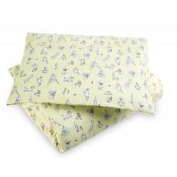 Moomin Duvet Cover Pillow Case Moomin Friends Yellow 85 x 125 cm/35 x 45 cm