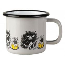 Moomin Enamel Mug Moomin Friends Stinky 0.15 L Muurla