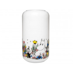 Moomin Vase Shared Moment White 23 cm Muurla