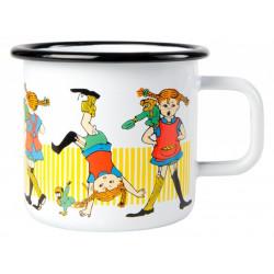 Pippi Longstocking Enamel Mug 0.37 L Muurla